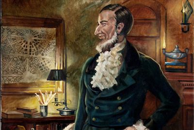 Man with a plan: Judge Augustus B. Woodward - PAINTING BY ROBERT MANISCALCO