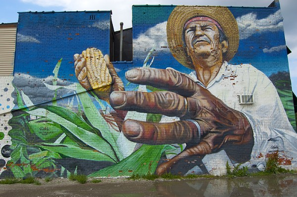 """Mano de Obra Campesina (Hand of the Peasant Labor)"" by Dasic Fernandez"