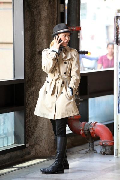 Maria Bello as Lady Kojak.