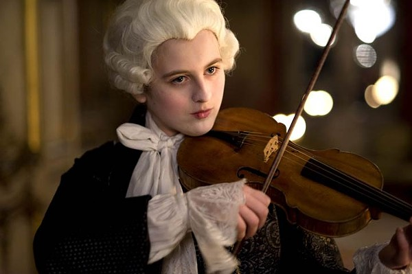 Marie Féret is Nannerl Mozart in Mozart's Sister.