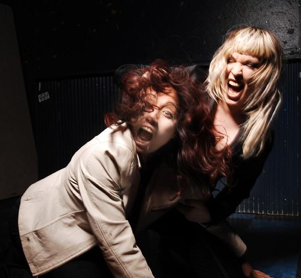 Mary Ramirez, left, and Rachel Nagy of the Detroit Cobras. - COURTESY PHOTO.
