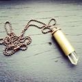 Mavis Smentkowski turns used-up bullet shells into fabulous jewelry
