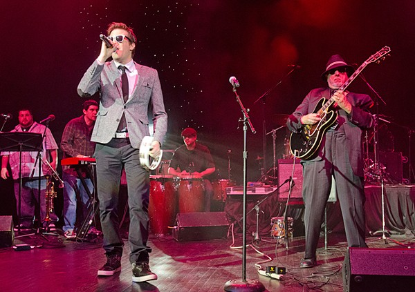 Mayer Hawthorne live at the DMAs. - PHOTO: DOUG COOMBE