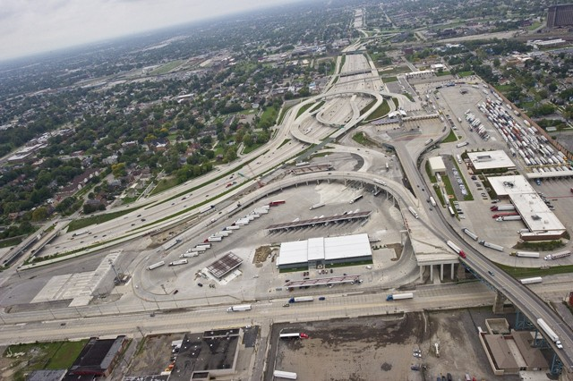 MDOT entered this photo of the unfinished project as evidence in contempt proceedings.