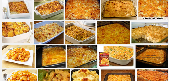 "Google search for: ""cheesy potatoes"" - VIA GOOGLE IMAGE SCREENSHOT"