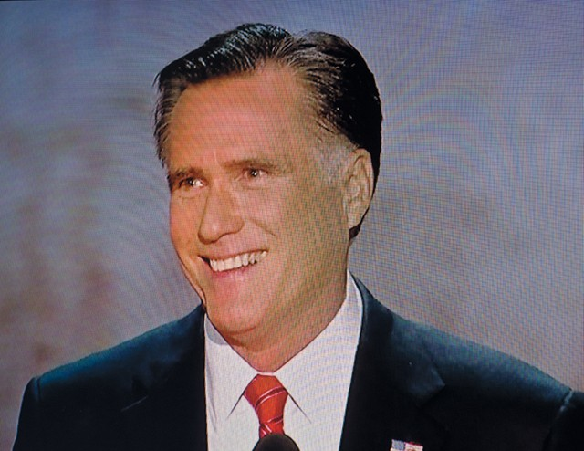"Mitt Romney during his convention speech: ""I wish President Obama had succeeded"