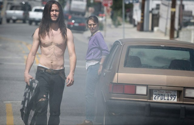 Mook or badass? Gordon-Levitt and Portman in Hesher.