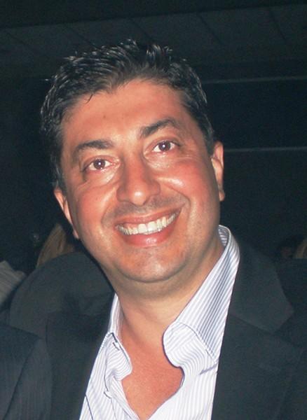 Nasser Beydoun in happier times.