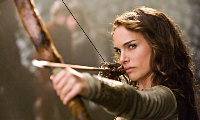 "Natalie ""a movie a month"" Portman pulls it straight in Your Highness."