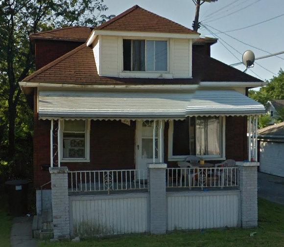 6841 Linzee St. in Detroit's Southwest neighborhood. The Detroit Land Bank Authority will hold an open house for this property on Nov. 15. - VIA GOOGLE MAPS