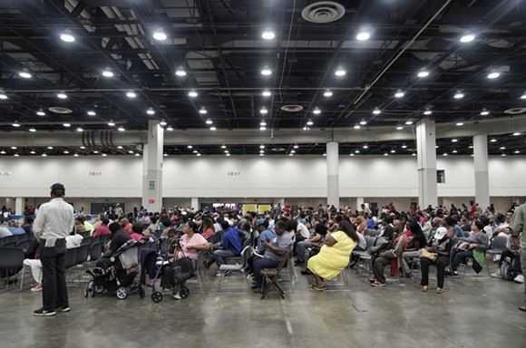 Thousands attended a water fair hosted by the City of Detroit at Cobo Hall on Aug. 25. - PHOTO CREDIT: KENNY CORBIN, VIA CITY OF DETROIT