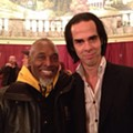 No, Nick Cave the artist is not the same as Nick Cave the musician