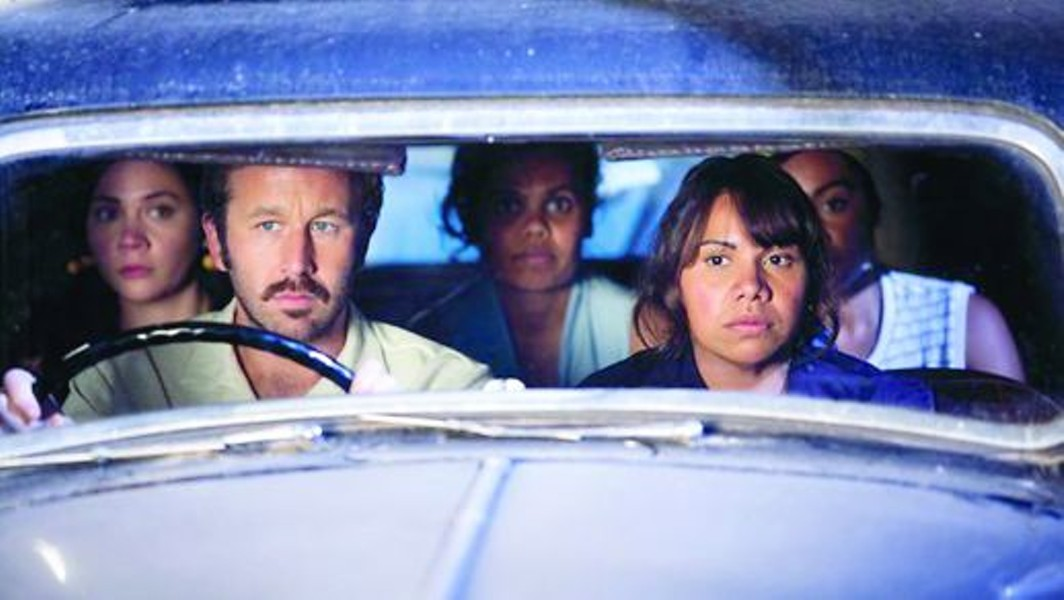 On the road again ... Irish heartthrob Chris O'Dowd shleps his brood from show to show before hitting paydirt.