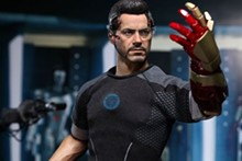 Part-man, part-machine: For Robert Downey Jr., Iron Man 3 is just another sortie.