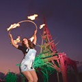 Photographer John Sobczak's new show features Detroit's fire performers