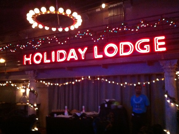 Punch Bowl's Holiday Lodge features billiards, and a pleasant fireplace to relax. - RYAN FELTON
