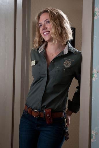 Really? Scarlett Johansson as a zookeeper?