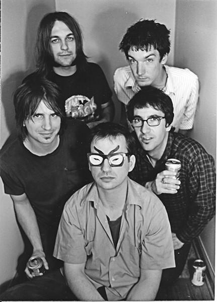 Rocket 455 circa '97: (Clockwise from top right) - Tudrick, Delicato, Walz, Meier, Nawara.
