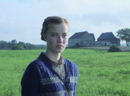 Saskia Rosendahl plays a teenager leading her siblings through a ruined Germany in Lore.