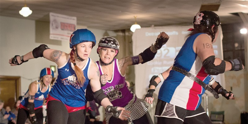 16 things to do in Detroit this week (Feb. 5-11) SATURDAY, 08Detroit Derby GirlsAh, roller derby. The only time you can watch women with names like Roxanna Hardplace and Princess Die hip check each other … on roller skates. But roller derby is no mere theatrics: It's a competitive, athletic sport, and Saturday's bout won't disappoint. It's a double header — the Detroit Pistoffs square off against the Pistolwhippers, while the D-Funk Allstars take on the Devil's Night Dames. In honor of the American Heart Association's Go Red campaign, fans are asked to wear red to promote heart health. A shuttle will take fans to McShane's Irish Pub in Corktown for an after party following the match. See all the bumps, bruises and beauties at the Detroit Masonic Temple at 4:45. Tickets are $18.