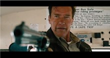 Shades of Eastwood: Arnold Schwarzenegger wants you to make his day in The Last Stand.