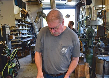 Shop Talk: Blacksmithing with CJ Forge