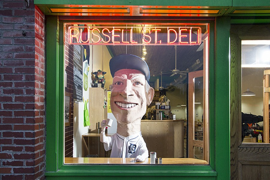 Sparky Anderson at Russell Street Deli - MARVIN SHAOUNI