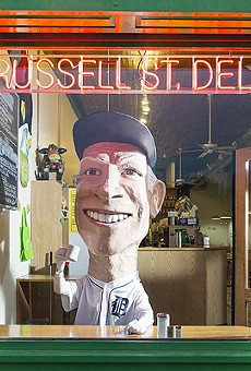 Sparky Anderson at Russell Street Deli