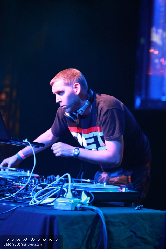 Spin out: DJ Matt Clarke.