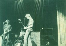 Sproton Layer rocks out in this late '60s snapshot. - MARK BRAHCE