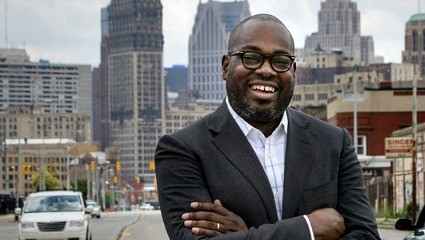 Stephen Henderson, editorial page editor of the Detroit Free Press - WAYNE STATE