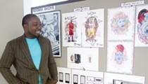 Studio Visit: Detroit artist Ndubisi Okoye gives us a peek inside his sketchbooks