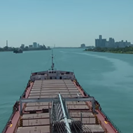 Take a trip down the St. Clair and Detroit rivers with this time-lapse video