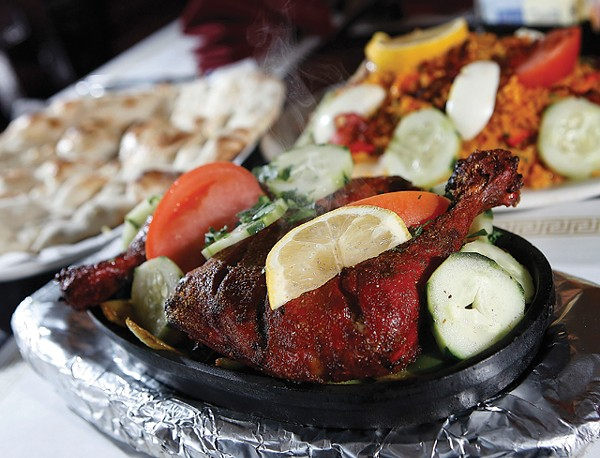 Tandoori chicken from Hamtramck's ZamZam. - MT PHOTO: ROB WIDDIS