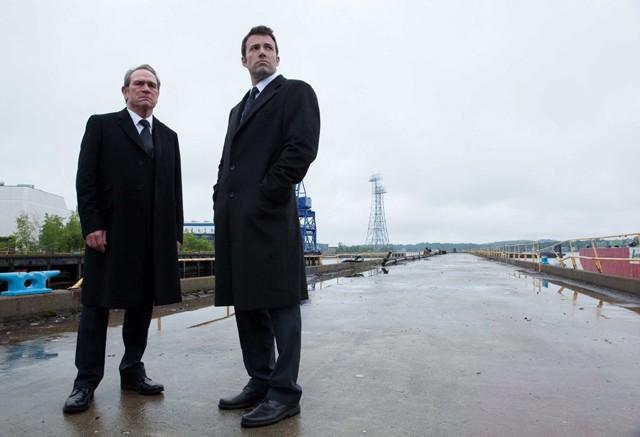 The Company Men: Jones and Affleck, a coupla rich white guys.