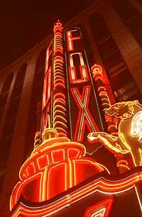 The Fox Theatre - METRO TIMES PHOTO / LARRY KAPLAN