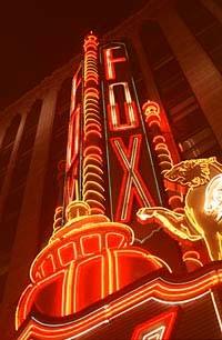 The Fox Theatre - METRO TIMES PHOTO / LARRY KAPLAN