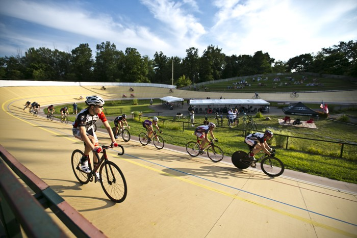 The International Velodrome at Bloomer Park. - PHOTO BY ERIKA FULK.