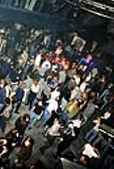 The main dance floor at Clutch Cargo's