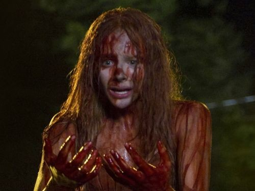 The money shot from the new remake of Carrie, starring Chloë Grace Moretz.