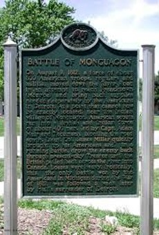 """The Monguagon Ghost There's a lost Indian village in Trenton, near the corner of West Jefferson and Slocum, called Monguagon. This is the site of America's only Michigan victory in the war of 1812. The ghost is the result of a British soldier called Muir who was shot in the head and killed. That same night, a bloody apparition showed up in his girlfriend's bedroom and basically said, """"Do me a favor sweetheart, bury my corpse before the other guys get their mitts on it."""" From time to time, Muir pops up just to make himself known."""