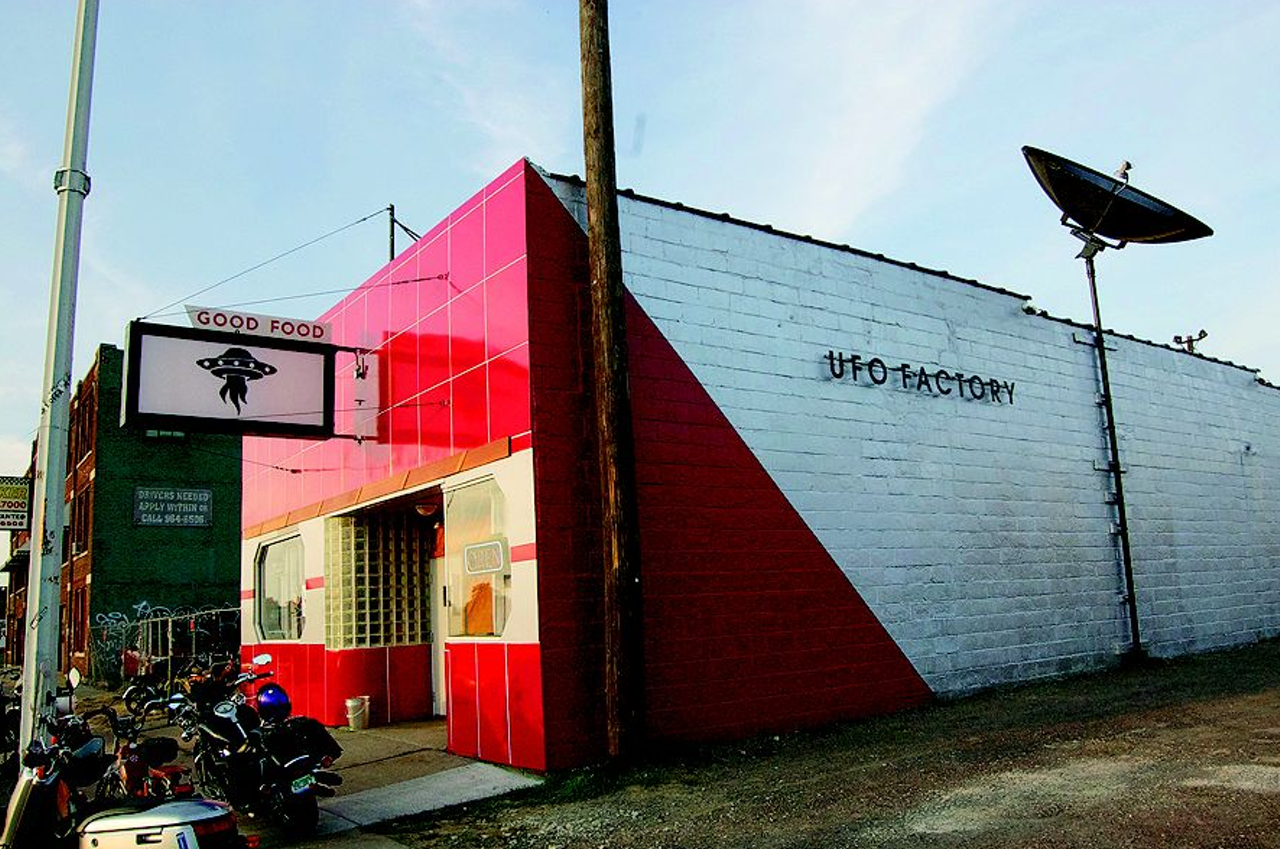 The UFO Factory lands in Corktown | Culture | Detroit Metro Times