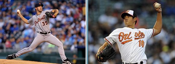 JUSTIN VERLANDER (LEFT) AND WEI-YIN CHEN (RIGHT), IMAGES VIA WFTN.COM AND REUTERS