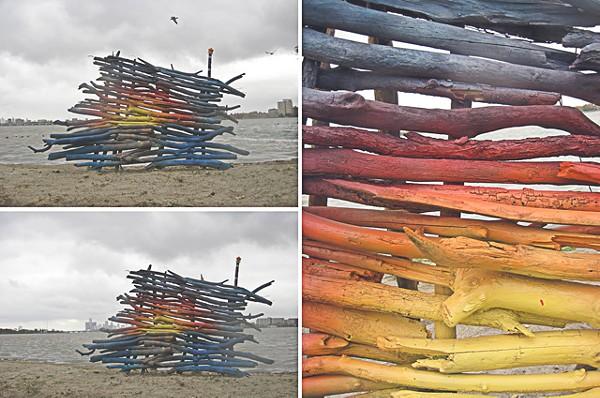 "Tony Perez's ""Driftwood Sunset&qout; from Belle Isle Art Exhibit 2010. - PHOTO COURTESY ALAN TRUHAN"
