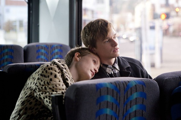 Twee expressions of individuality: Mia Wasikowska and Henry Hopper in Restless.