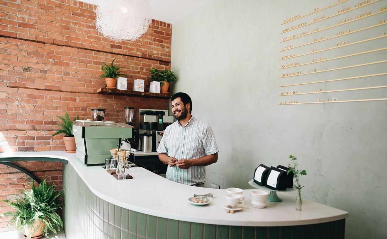 Kiesling owners' super cute walk-up coffee shop Milwaukee Caffè is now open in Detroit