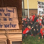 College sports fans keep making fun of the Flint water crisis