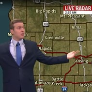 Grand Rapids weatherman freaks out, just wants support from his coworkers