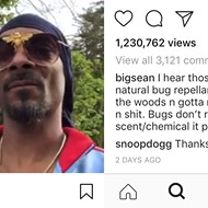 Anyway here's Big Sean giving Snoop Dogg advice about pine cones