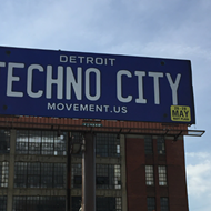 New Movement billboard proclaims we are 'Detroit Techno City'